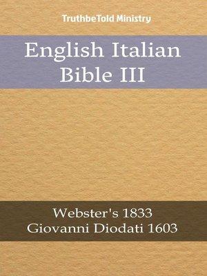 cover image of English Italian Bible III