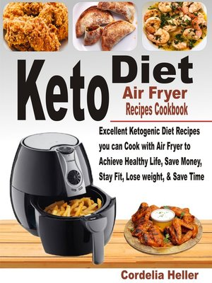 cover image of Keto Air Fryer Recipes Cookbook