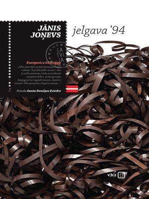 cover image of Jelgava '94.
