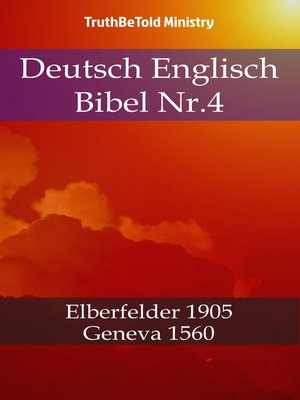 cover image of Deutsch Englisch Bibel Nr.4