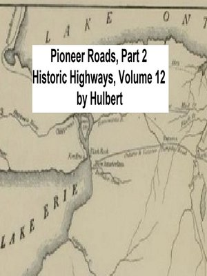 cover image of Pioneer Roads, Part 2