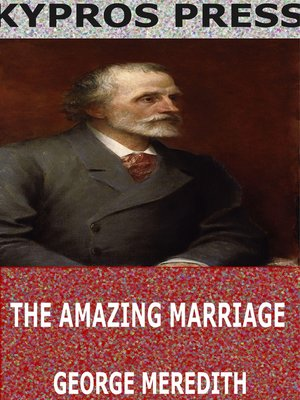 cover image of The Amazing Marriage