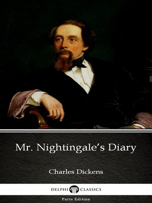 cover image of Mr. Nightingale's Diary by Charles Dickens (Illustrated)