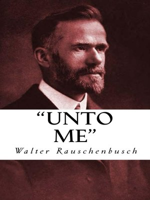 "cover image of ""Unto Me"""