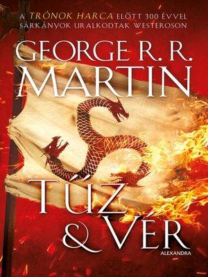 cover image of Tűz és vér