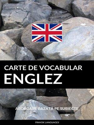 cover image of Carte de Vocabular Englez
