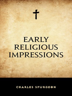 cover image of Early Religious Impressions