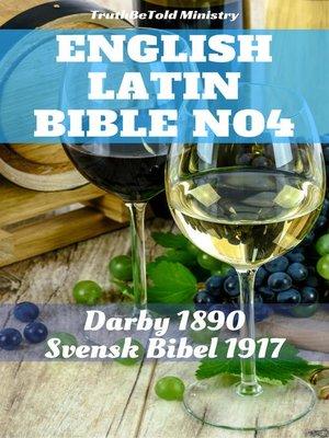 cover image of English Latin Bible No4