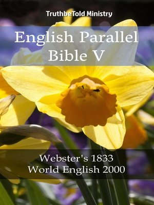 cover image of English Parallel Bible V