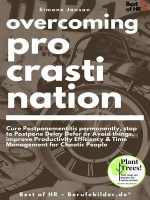 cover image of Overcoming Procrastination