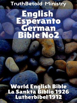 cover image of English Esperanto German Bible No2