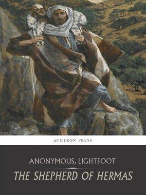 cover image of The Shepherd of Hermas