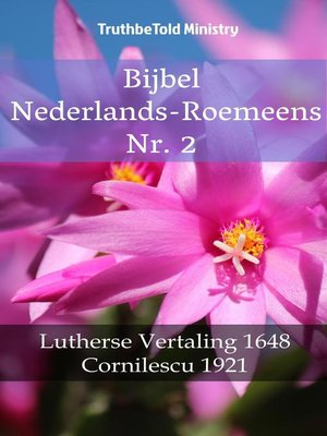 cover image of Bijbel Nederlands-Roemeens Nr. 2