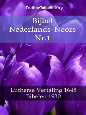 cover image of Bijbel Nederlands-Noors Nr.1