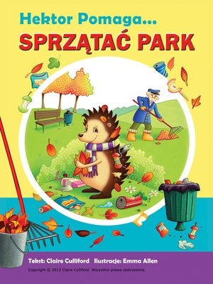 cover image of Hektor Pomaga Sprzątać Park