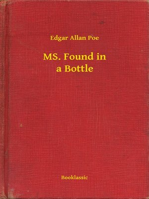 cover image of MS. Found in a Bottle