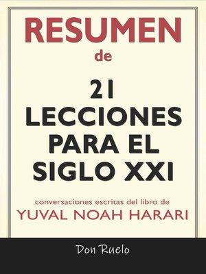 cover image of Resumen de 21Lecciones Para El Siglo XXI