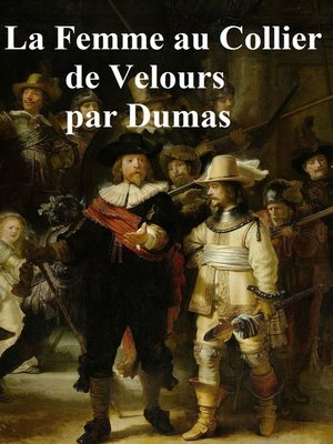 cover image of La Femme au Collier de Velours