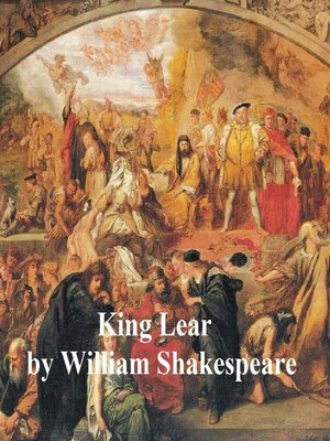 cover image of King Lear, with line numbers