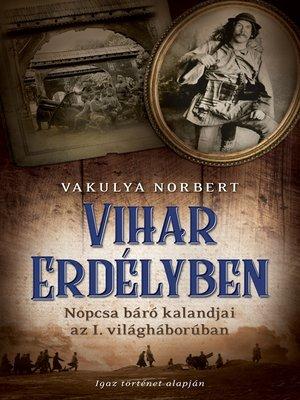 cover image of Vihar Erdélyben
