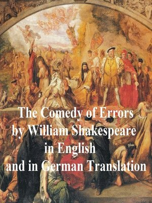 cover image of The Comedy of Errors/ Die Irrungen