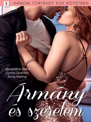 cover image of Ármány és szerelem--3 történet 1 kötetben