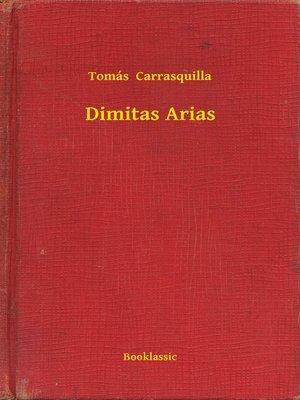 cover image of Dimitas Arias