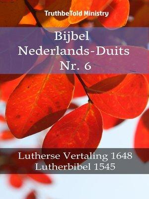 cover image of Bijbel Nederlands-Duits Nr. 6