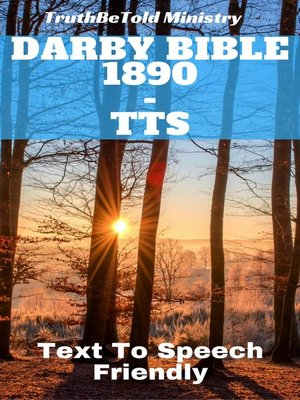 cover image of Darby Bible 1890--TTS