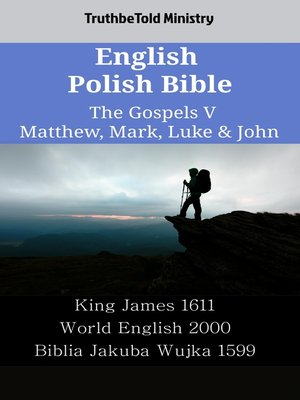 cover image of English Polish Bible - The Gospels V - Matthew, Mark, Luke & John