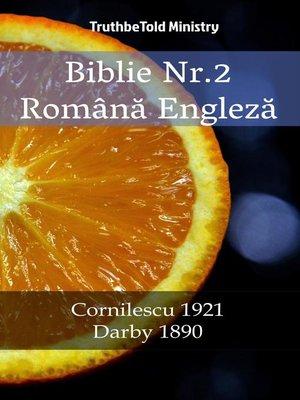 cover image of Biblie Nr.2 Română Engleză