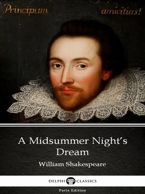 cover image of A Midsummer Night's Dream by William Shakespeare