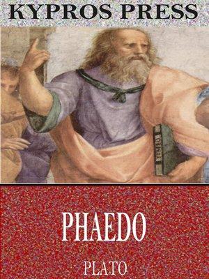 cover image of Phaedo