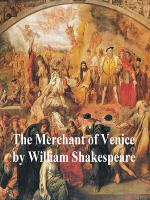 cover image of The Merchant of Venice, with line numbers