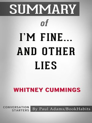 cover image of Summary of I'm Fine...And Other Lies