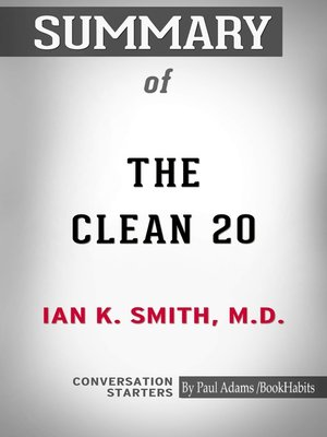 cover image of Summary of the Clean 20
