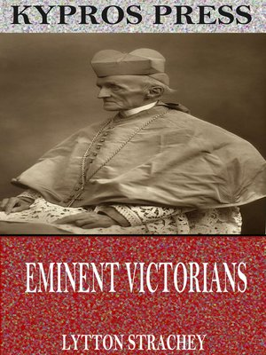 cover image of Eminent Victorians