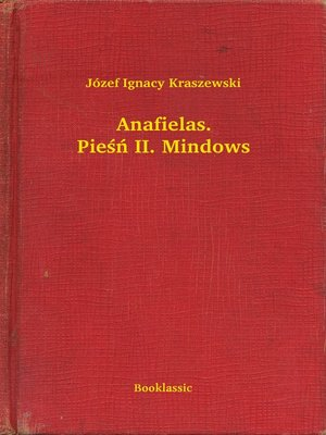 cover image of Anafielas. Pieśń II. Mindows
