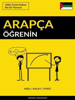 cover image of Arapça Öğrenin--Hızlı / Kolay / Etkili
