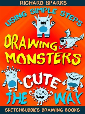 cover image of Drawing Monsters the Cute Way