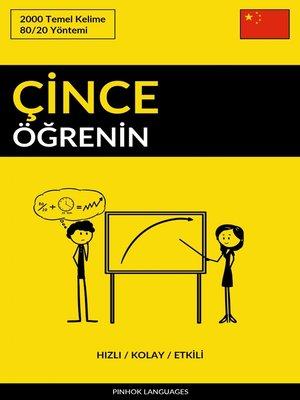 cover image of Çince Öğrenin--Hızlı / Kolay / Etkili