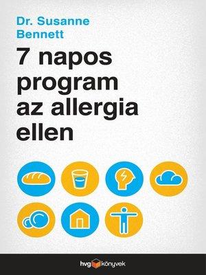 cover image of 7 napos program az allergia ellen
