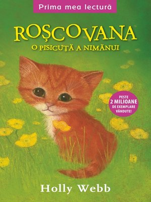 cover image of Roșcovana Ginger, pisicuța nimănui