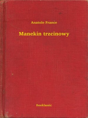 cover image of Manekin trzcinowy