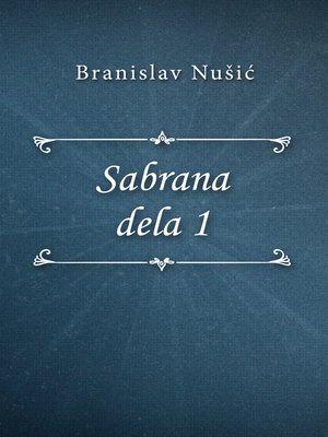 cover image of Sabrana dela 1