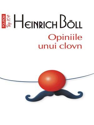 cover image of Opiniile unui clovn