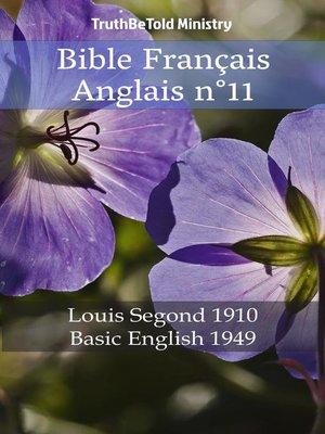 cover image of Bible Français Anglais n°11