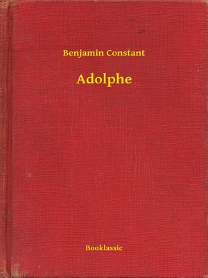 cover image of Adolphe