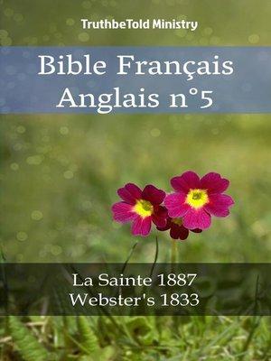 cover image of Bible Français Anglais n°5