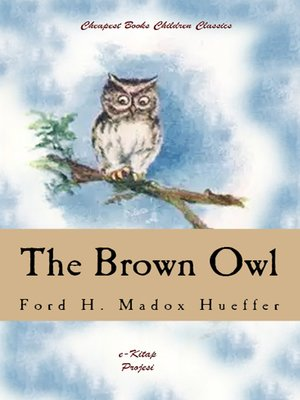 cover image of The Brown Owl